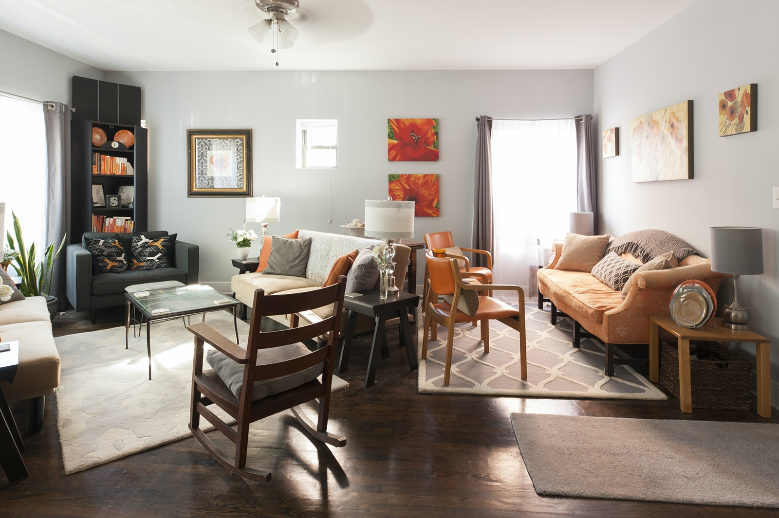 Guests can rent a private room in a lovely vintage home in Andersonville, on the north side of Chicago.