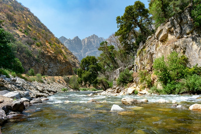 Kings Canyon is one of the deepest in the country.