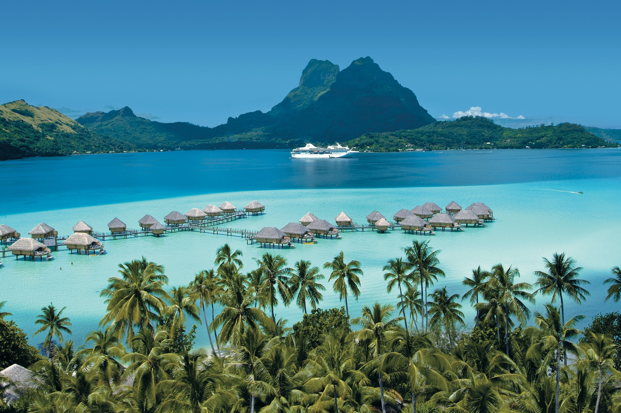 Best French Polynesia Cruise Line: Paul Gauguin Cruises