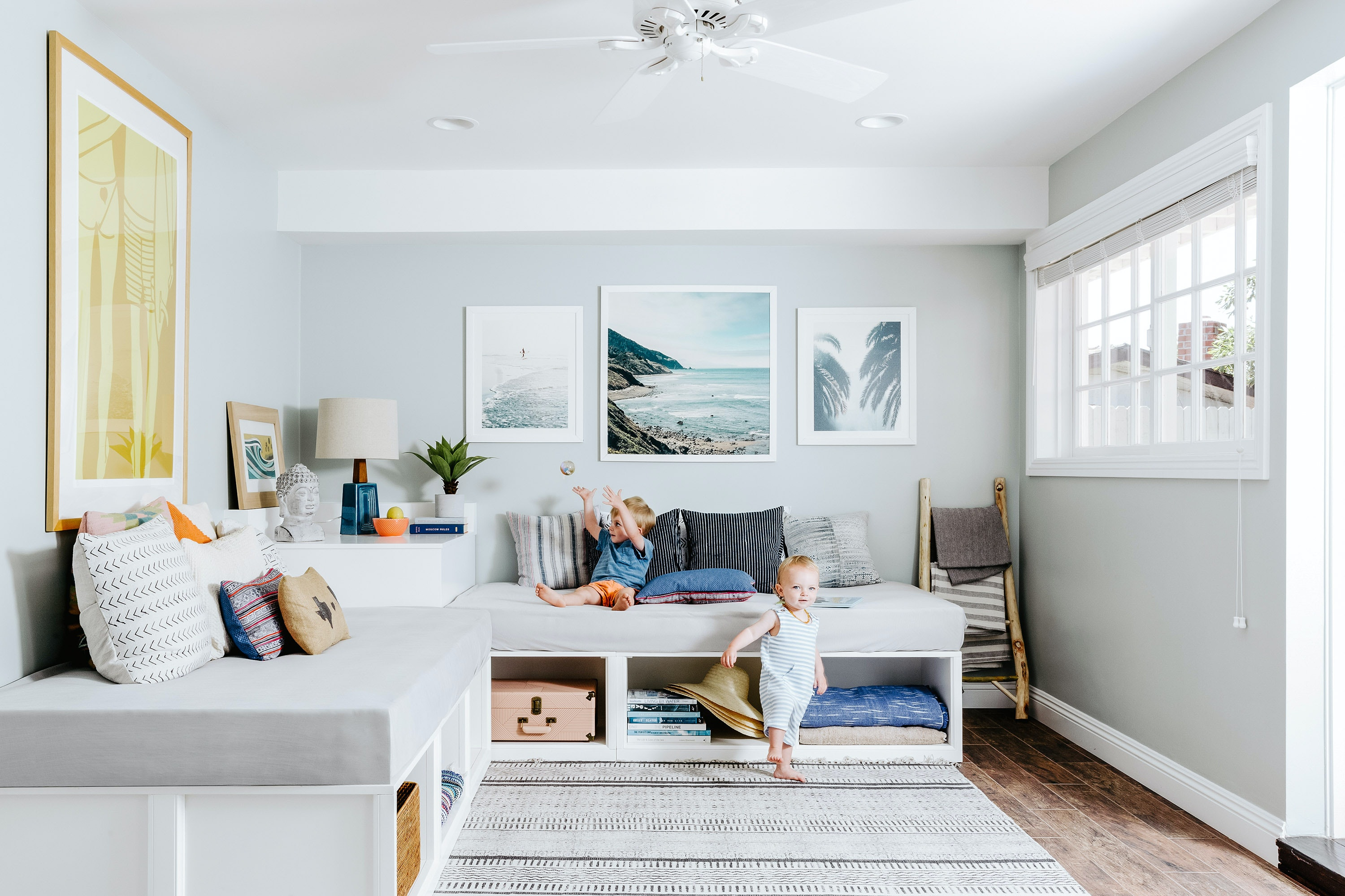 A helpful amenities search on the Kid & Coe website allows guests to sort listings by category of travel (coastal escapes, theme park stays) or special needs (high chair, changing table).