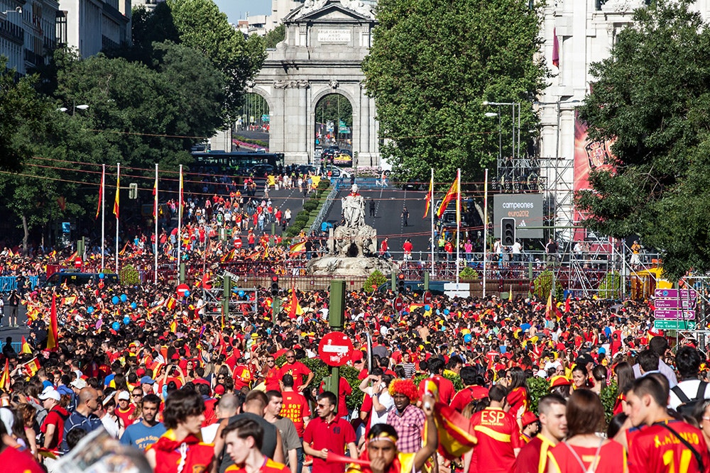 You stand a real chance of watching a deep tournament run while surrounded by soccer-mad Spaniards if you head for the Iberian Peninsula this summer.
