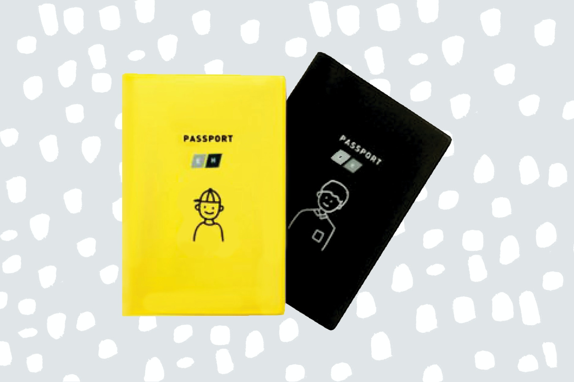 Passports stay pristine in funky cases from Duru Naru.