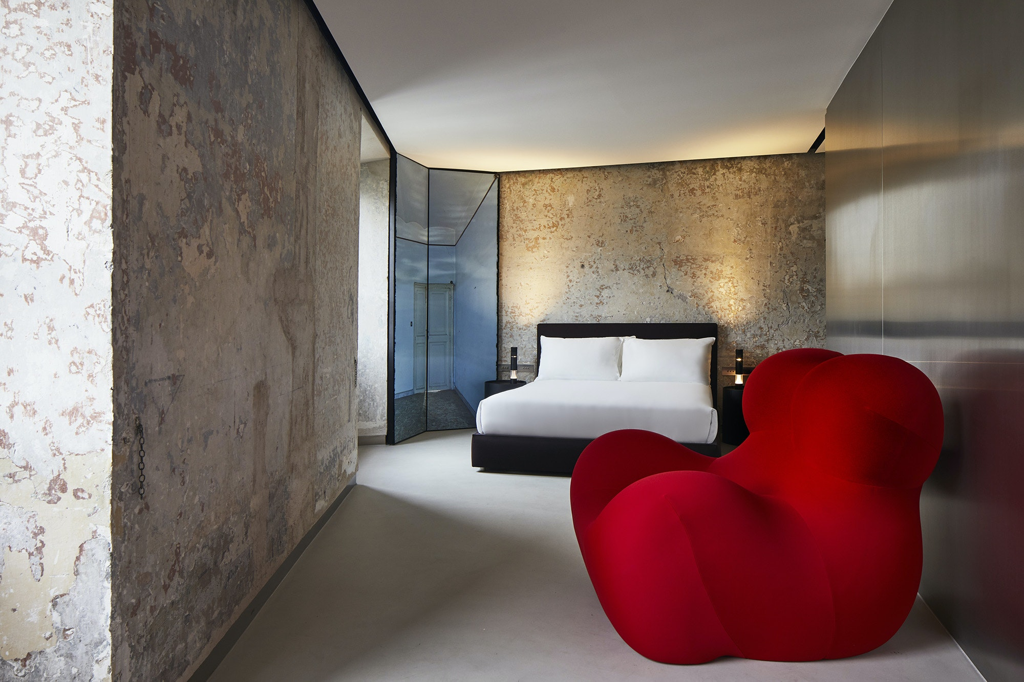 Each apartment at The Rooms of Rome is unique.