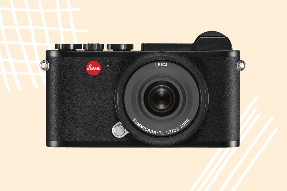 Get a vintage vibe from this Leica camera.