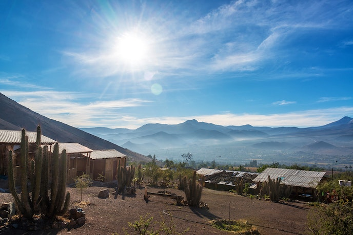 Chile's Elqui Valley is one of the best places to observe the total solar eclipse in July.