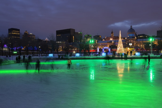 Lace up your skates and go for a spin with your favorite partner in Montreal.