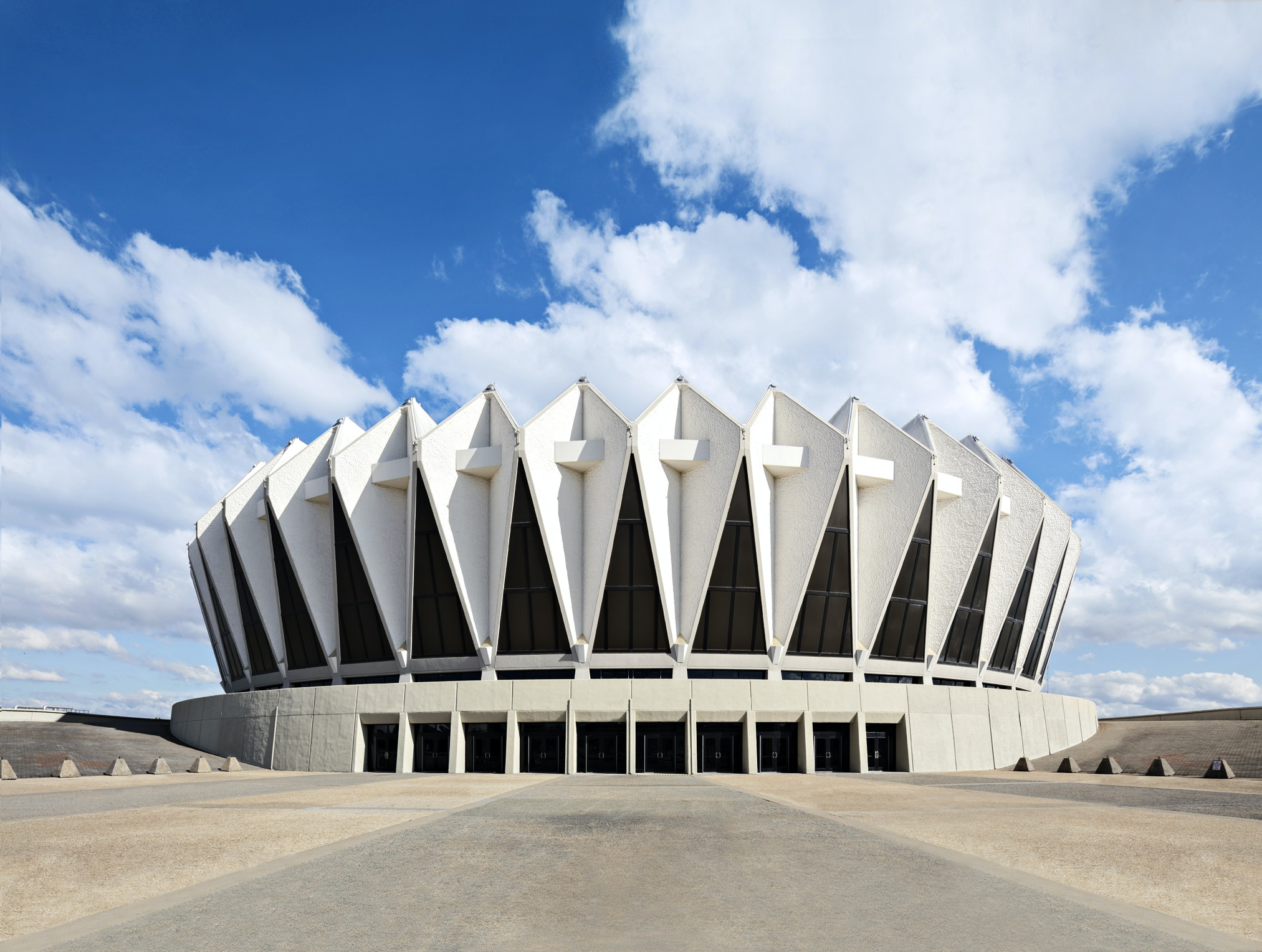 Construction of the Hampton Coliseum spurred commercial development of the area.