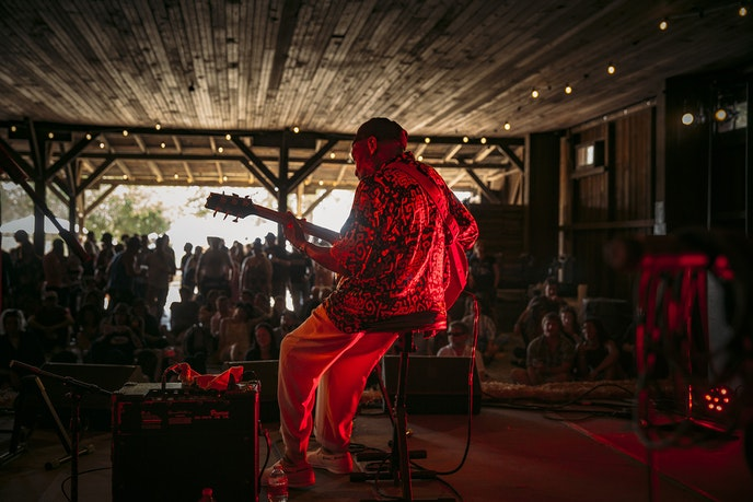 Artists as well as music lovers value the intimacy of micro-festivals like Huichica Sonoma.