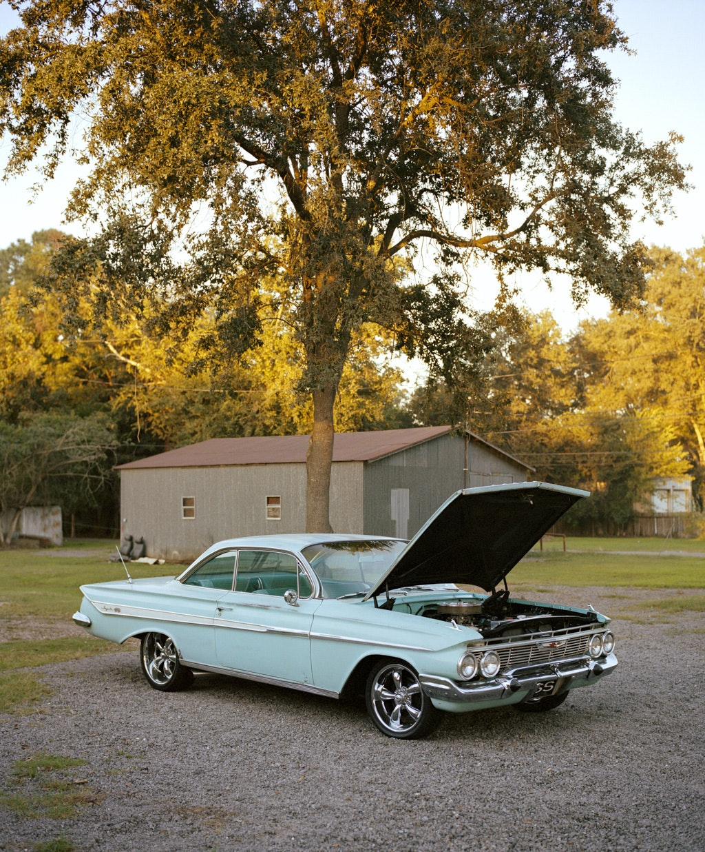 The 1961 Chevy Impala, pictured above in New Orleans, Louisiana, was once the best-selling automobile in the United States.