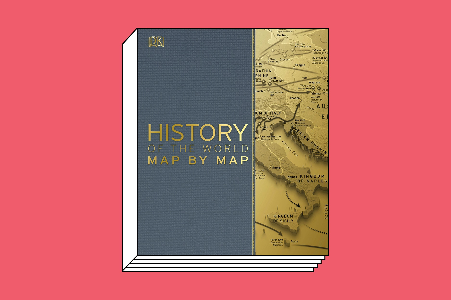 Humankind's progress has been carefully mapped out in this giant tome.