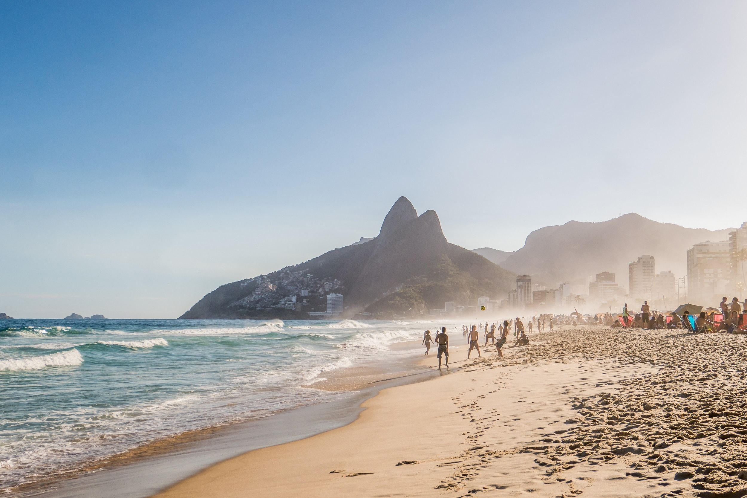 Tall and tan and young and lovely? Even if you don't fit the bill, Rio's Ipanema Beach is calling.