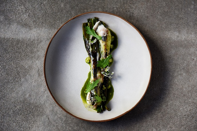 Attla's dishes are made solely with ingredients grown, caught, or raised in Portugal.