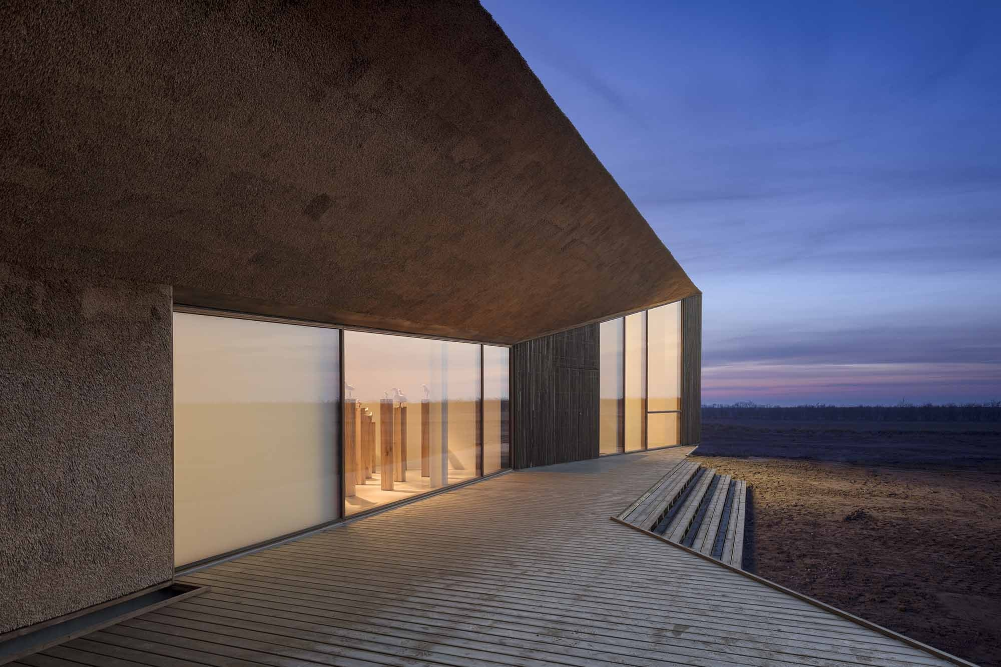 The recently redesigned Vadehavescentret in Ribe is the gateway to the Wadden Sea National Park.