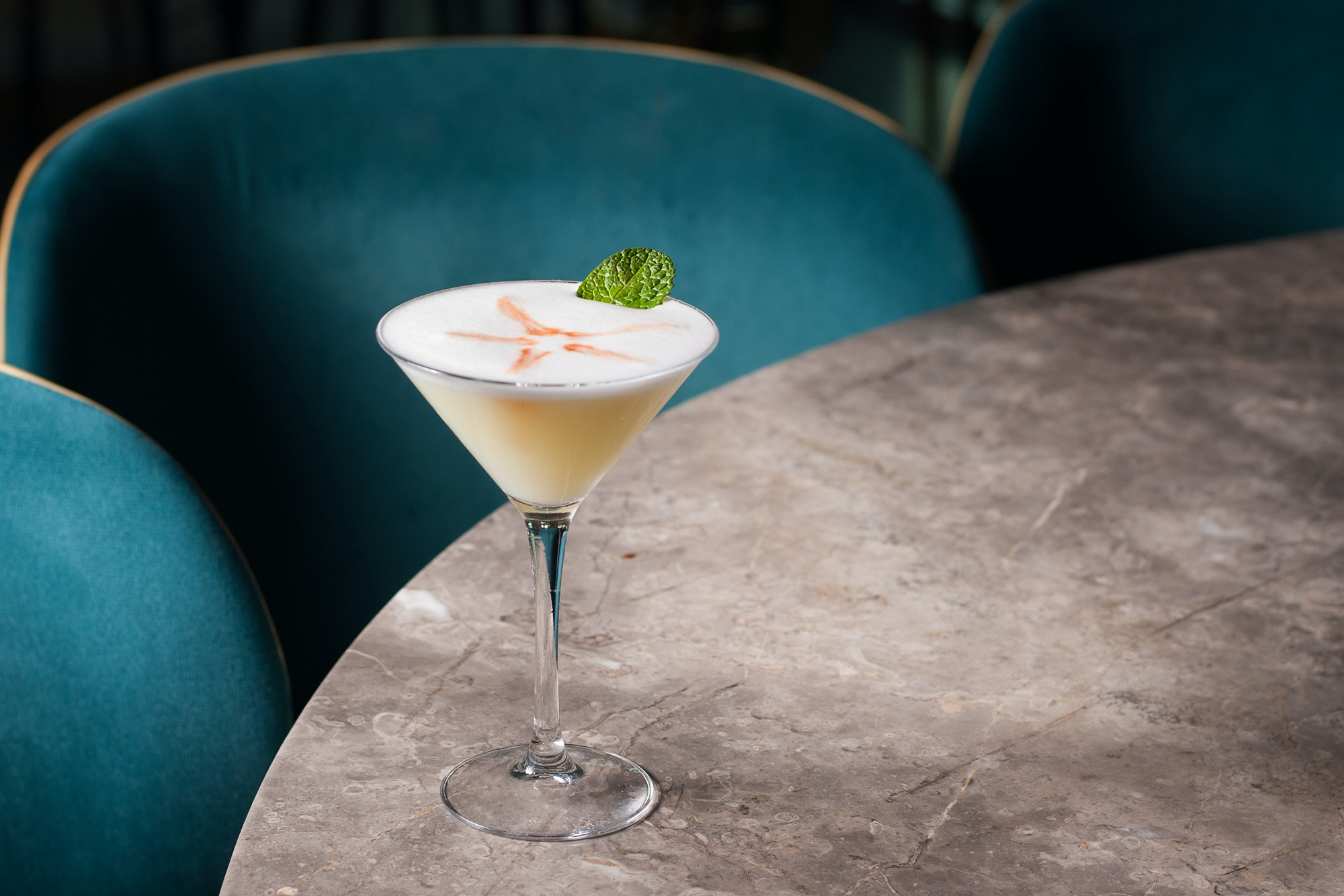 The Bold Botanist cocktail at Hearth '61 features the flavors and history of the Grand Canyon.