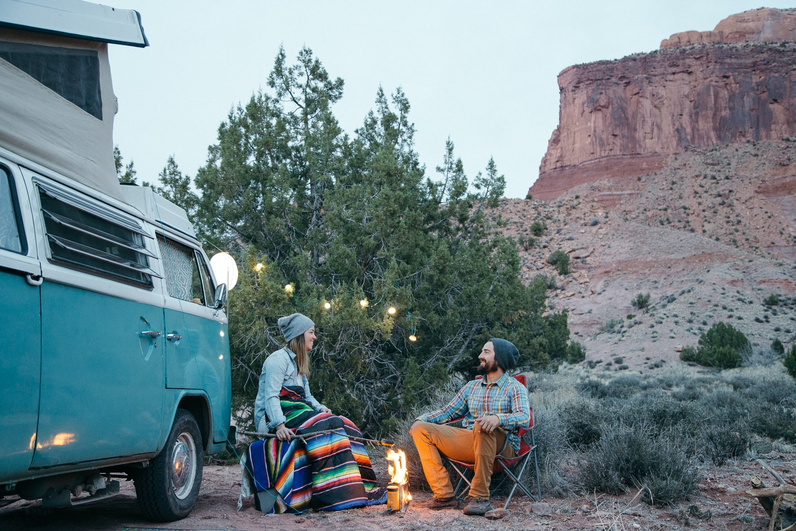 A strand or two of SiteLight Minis makes any campsite look magical.