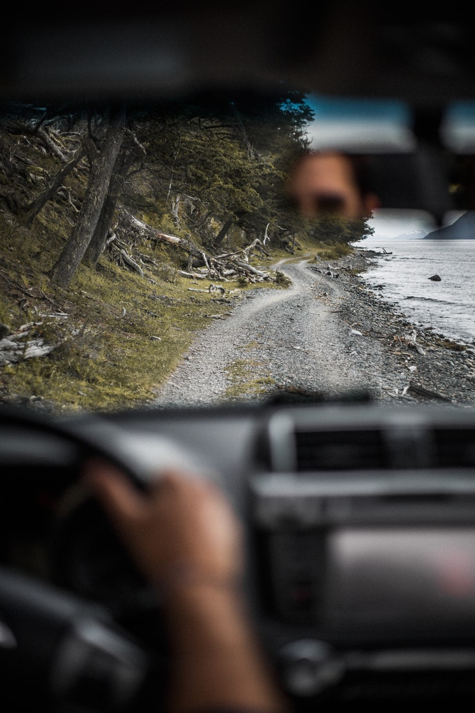 Rudya found driving in Tierra del Fuego, Argentina, to be a freeing experience.