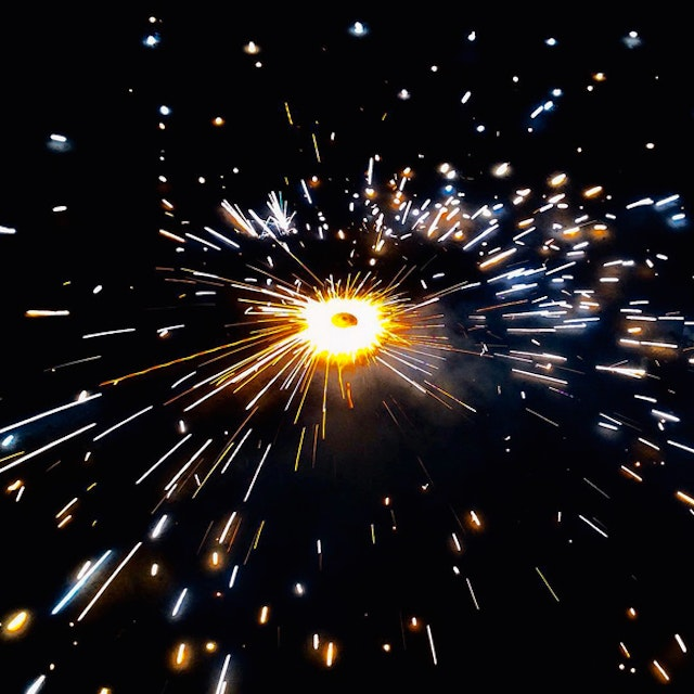 Fireworks and sparklers are an iconic part of Diwali celebrations.