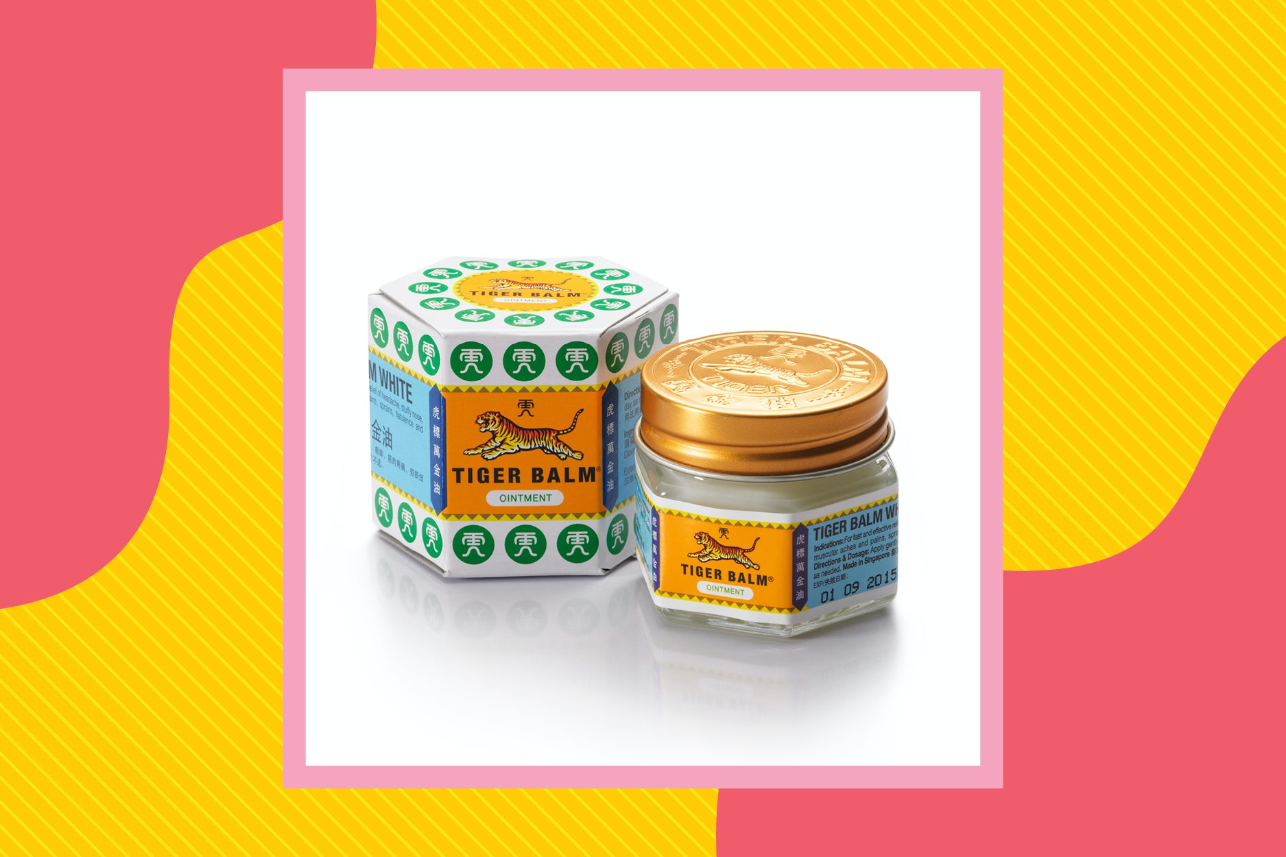 Tiger Balm can relieve itching from mosquito bites.