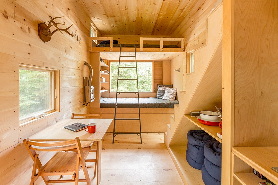 Getaway cabins are within a 2-hour drive of Boston, NYC, and D.C., with another city coming soon.