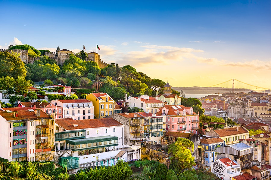 Summer in Portugal's capital city of Lisbon is ideal for wine-tasting and strolling the sun-drenched streets.