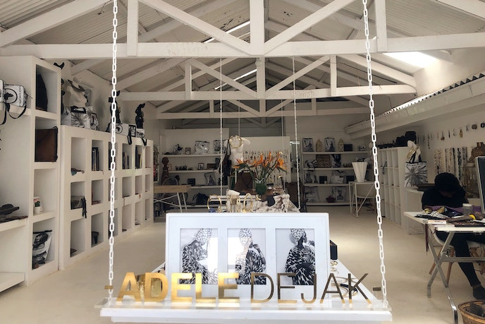 Designer Adele Dejack's Nairobi shop is one of the many must-stops in this exciting city.