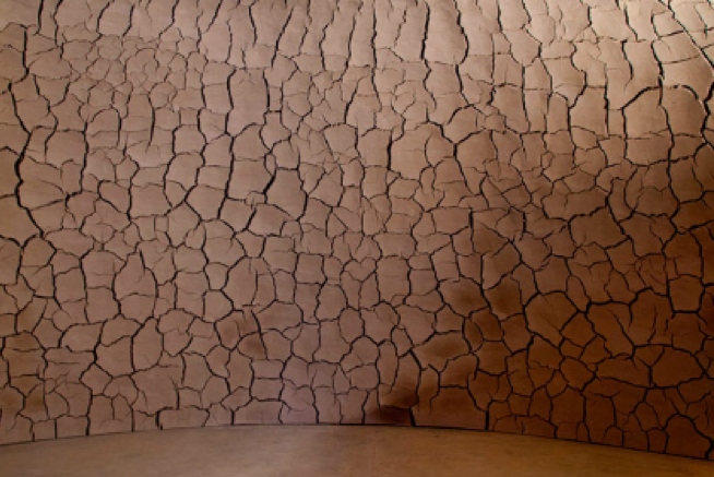 Although the Domo de Argila is currently considered a permanent installation, the natural materials will one day disintegrate, and the structure will cease to exist in its current form.