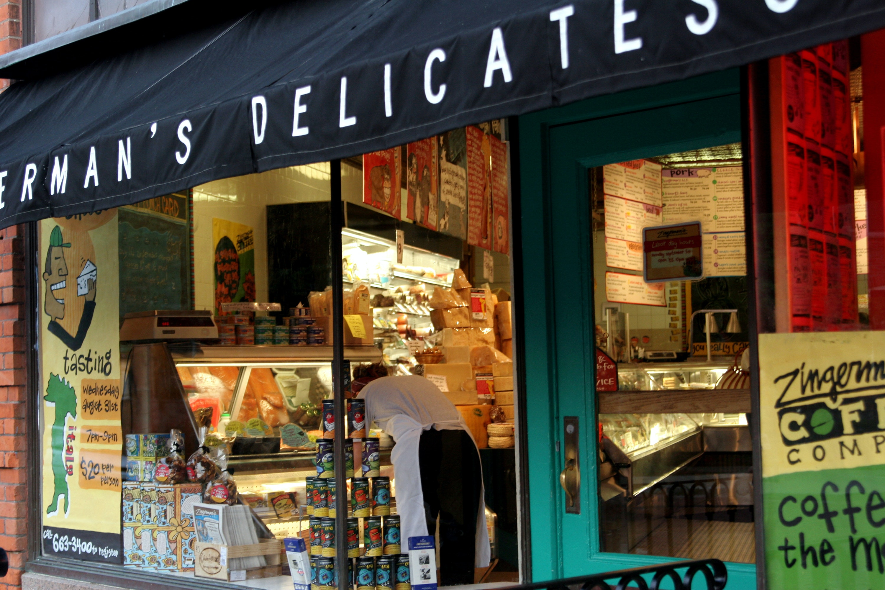 Zingerman's Delicatessen is a favorite of University of Michigan students and Ann Arbor residents.