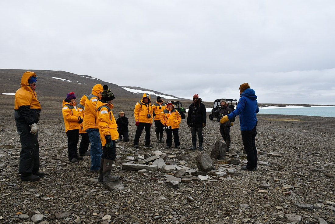 A Thule site near the Northwest Passage