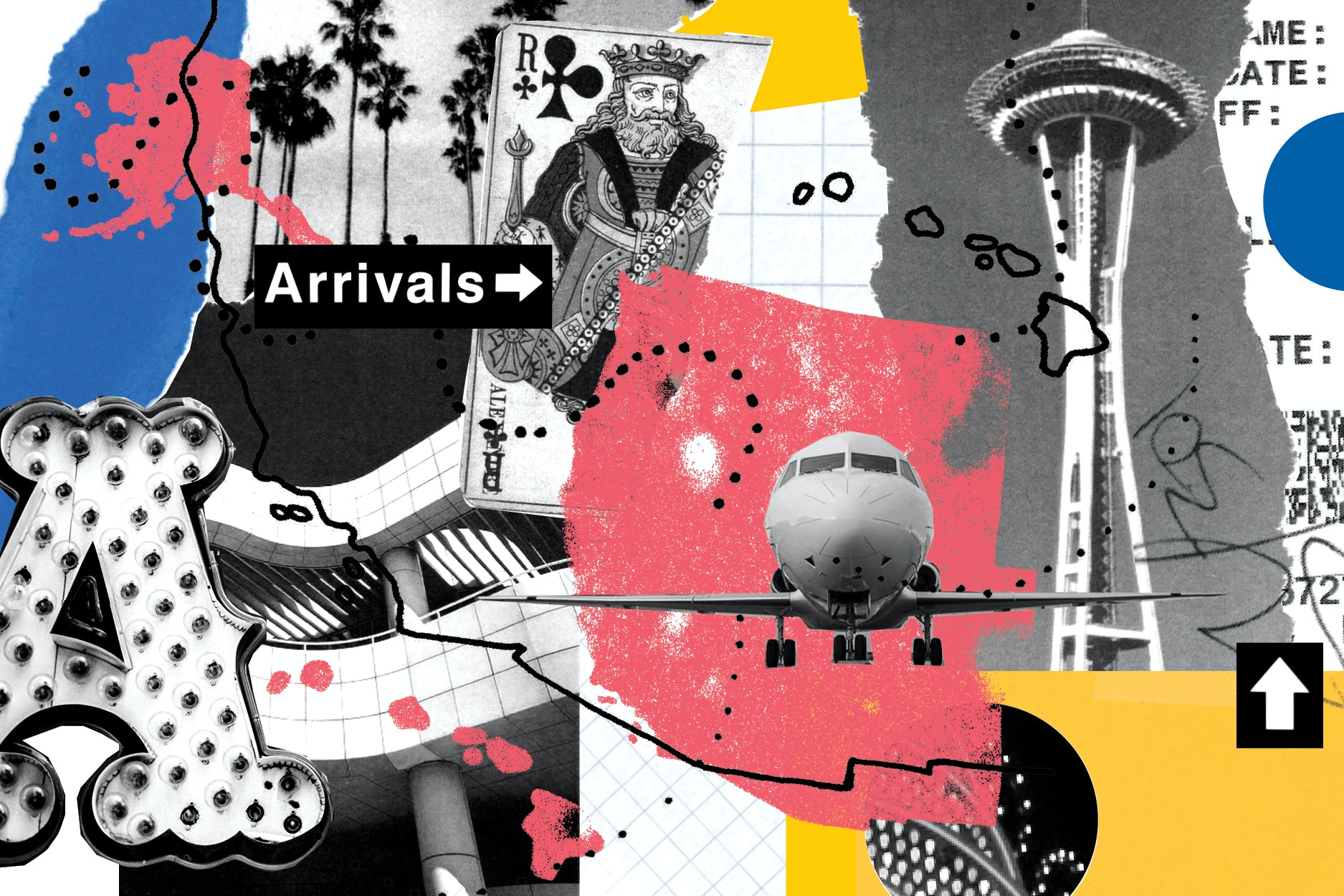 Seattle, Las Vegas, Denver, and Los Angeles are all popular destinations with West Coast travelers.