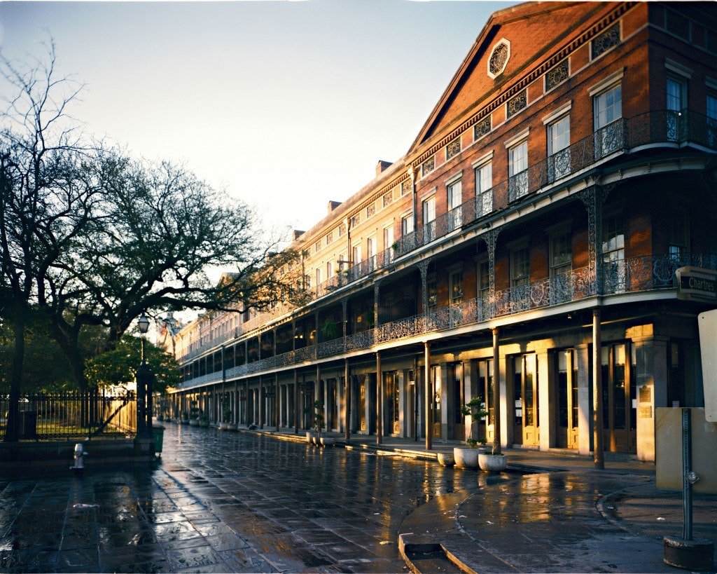 Upper Pontalba buildings, New Orleans architecture