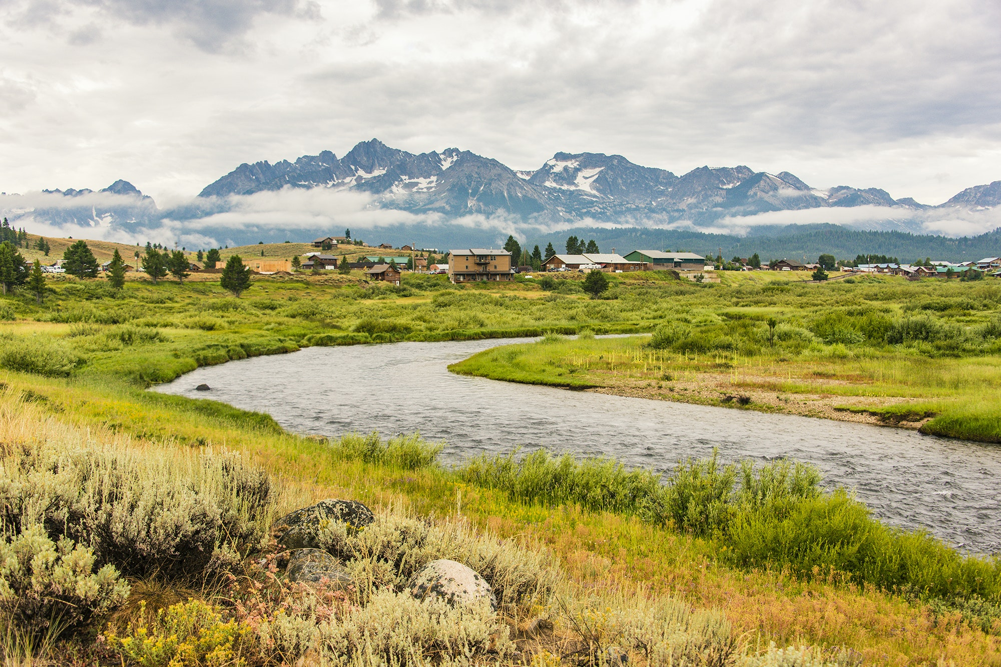 When you arrive in Stanley, views of the Sawtooth Range and Frank Church—River of No Return Wilderness will beckon you to get deeper into nature.