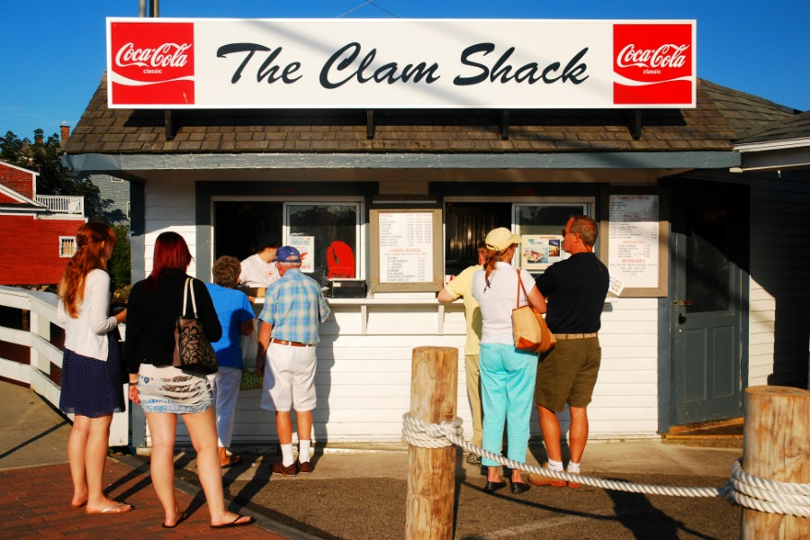 The Clam Shack's lobster roll is justifiably heralded by every food writer who passes through Kennebunkport.