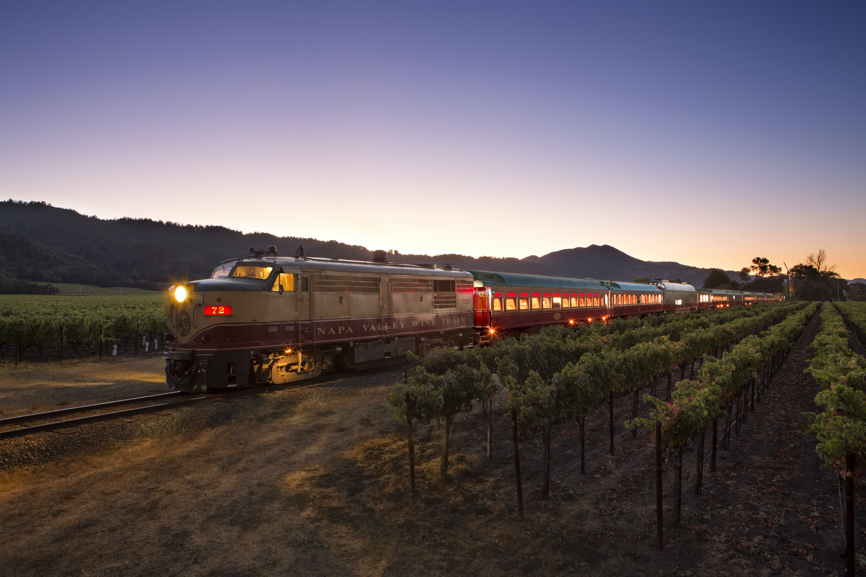 The Wine Train has a variety of itineraries to choose from, including a Castle Winery Tour and a visit to Grgich Hills Winery.