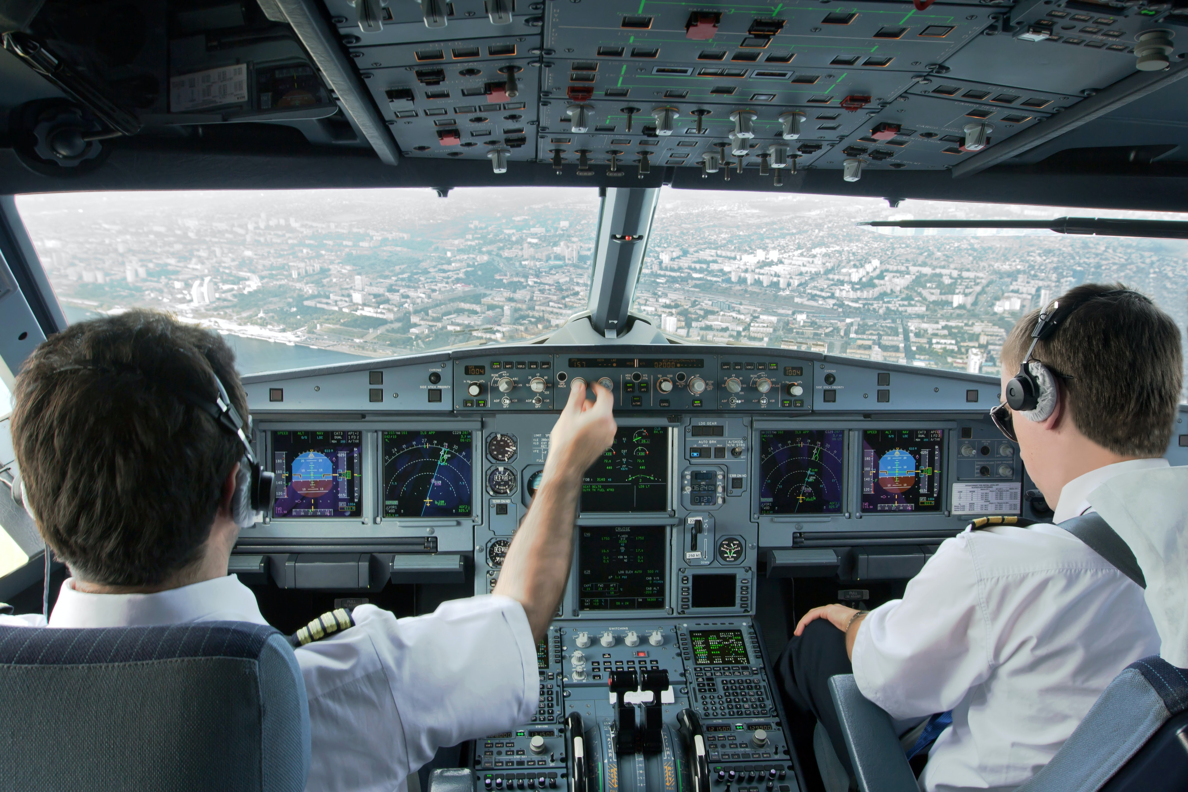 Pilots are constantly monitoring the altitude of the plane in search for the smoothest possible flying conditions.
