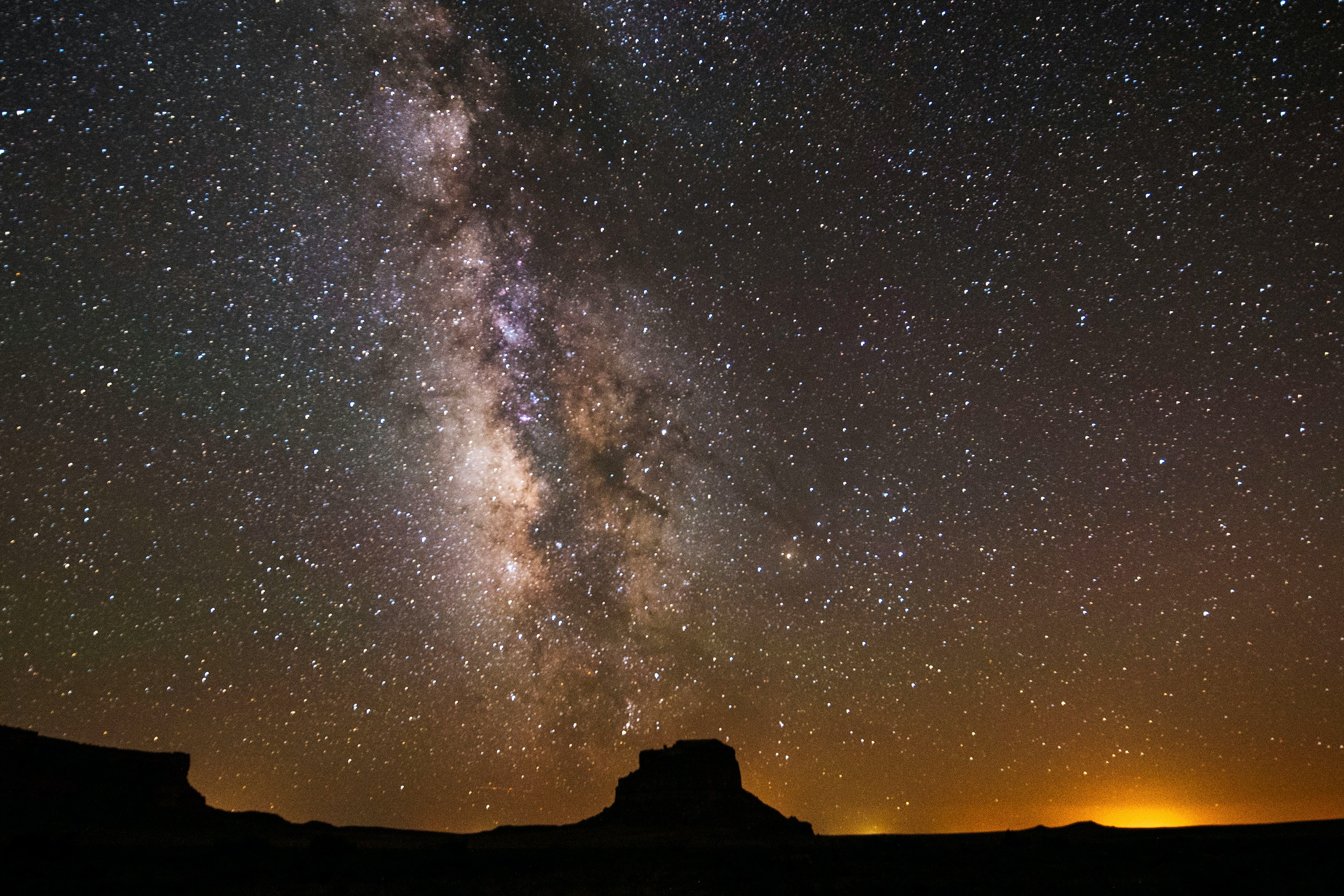 Chaco Culture National Historical Park is a designated International Dark Sky Park.