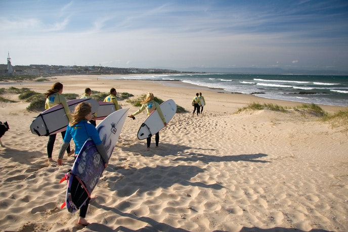 Jeffreys Bay is one of the best surf breaks in the world.