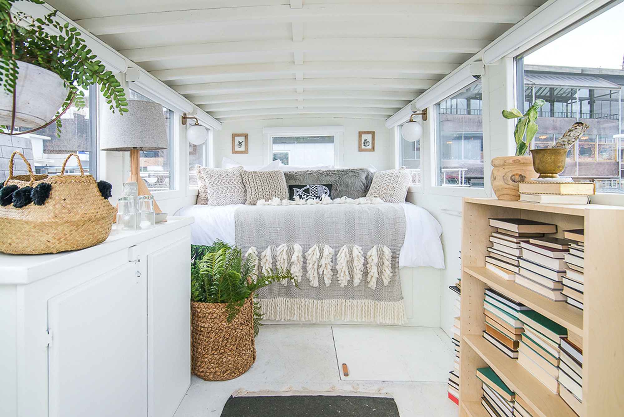 Houseboats are synonymous with Seattle, and a stay at this one puts forth the very best that the experience has to offer.