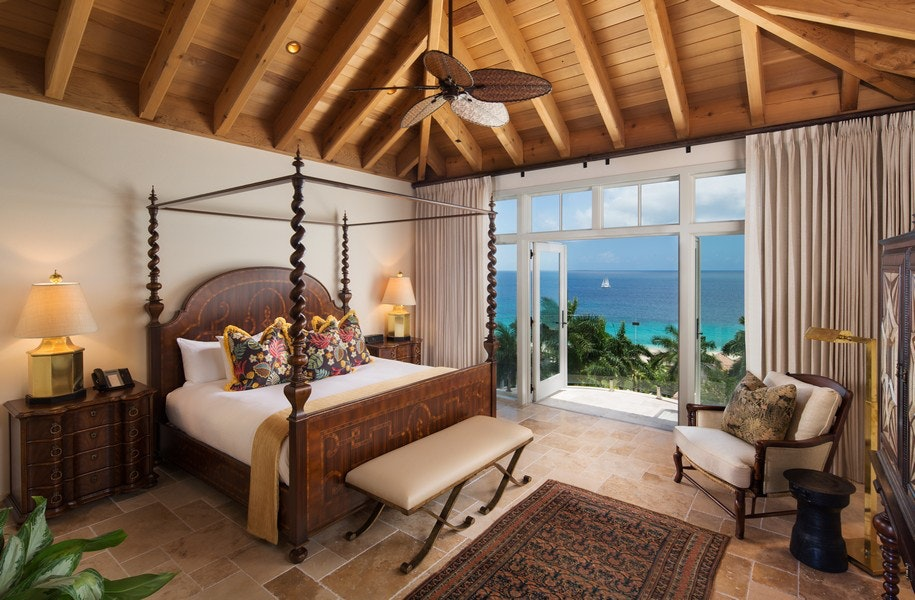 """Billing itself as a """"tropical grand mansion,"""" the Quintessence is the first new post-hurricane hotel on Anguilla."""