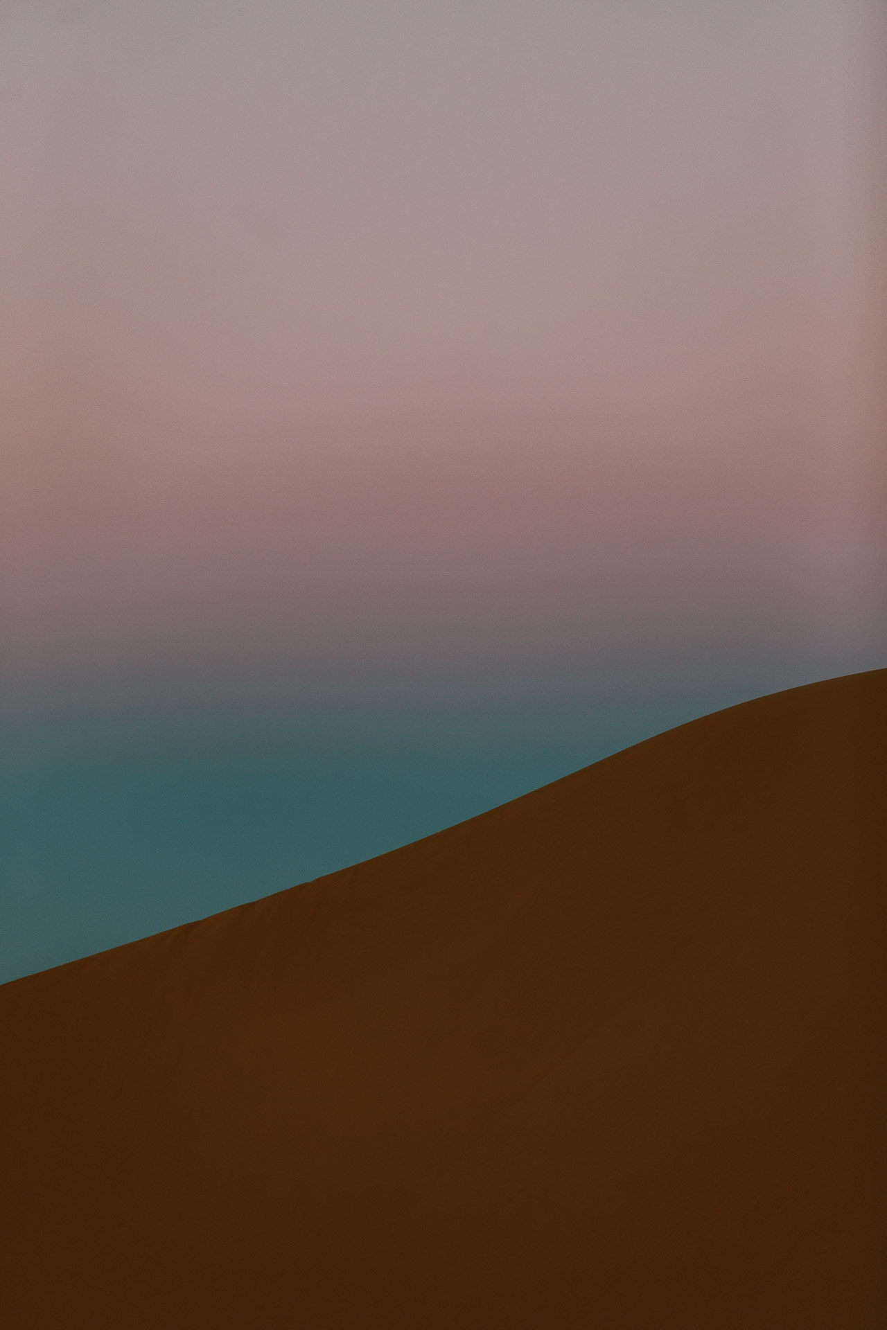 I found inspiration in the minimalist landscape of the desert.