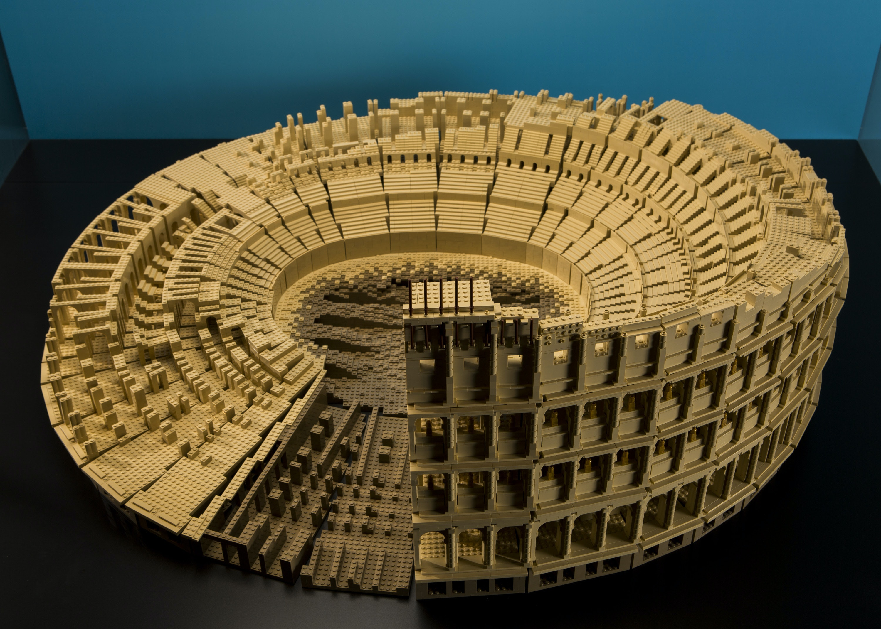 The Roman Colosseum at MSI's