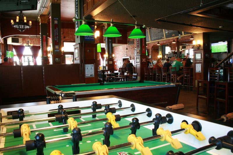 "This Denver bar considers itself ""a world football pub."""