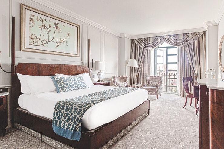 A suite at Belmond Charleston Place
