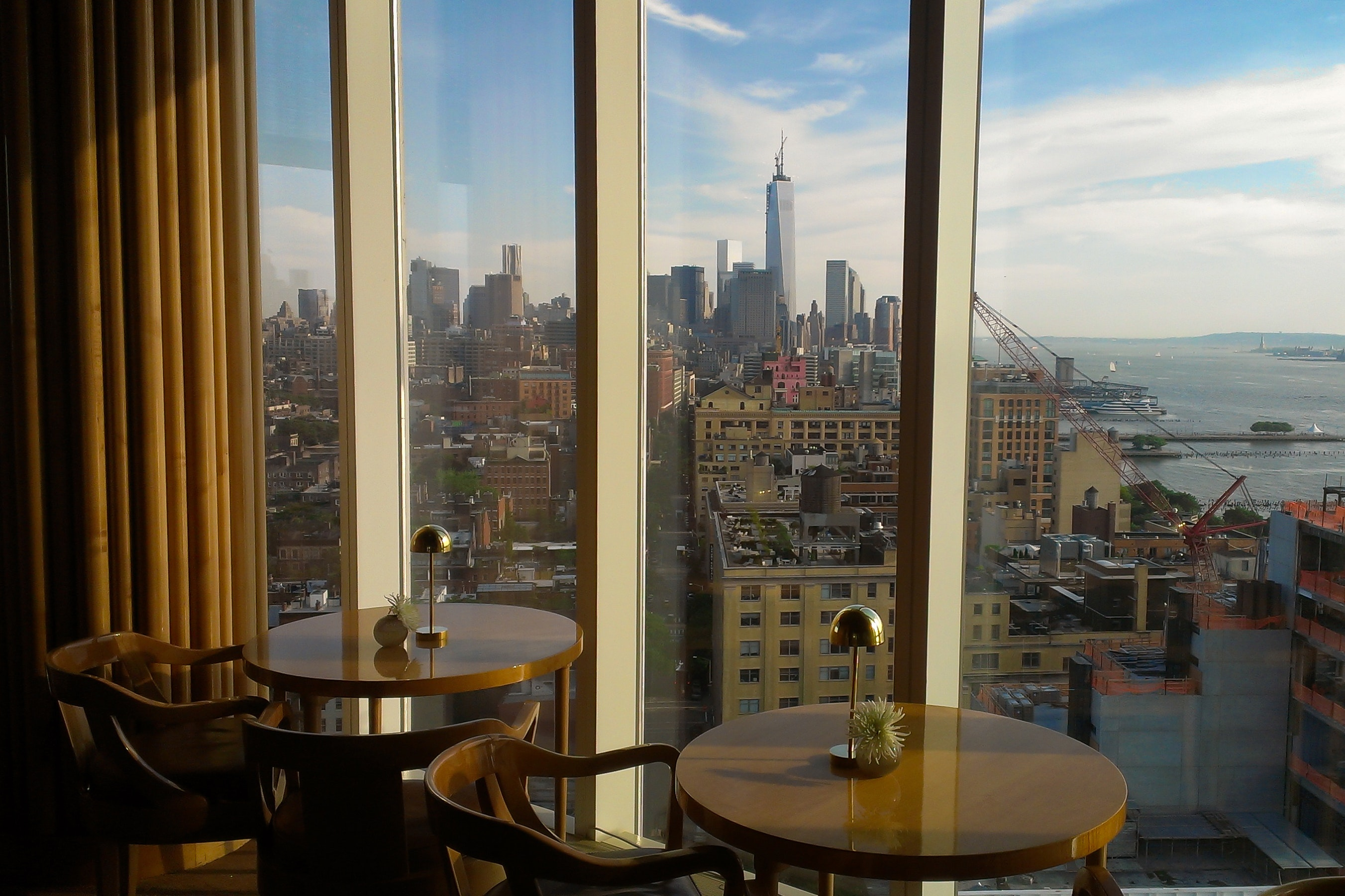 Top of the StandardatThe Standard hotel is one of New York City's most exclusive restaurants and bars.