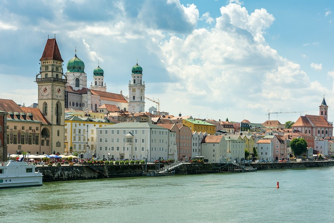 Passau, Germany, is one of the Old-World gems that line the Danube; city lovers also appreciate access to stunning European capitals like Vienna and Budapest.