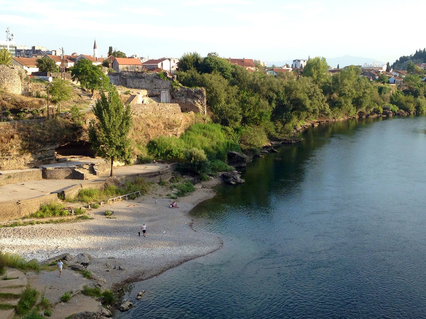 View of the Moraca River
