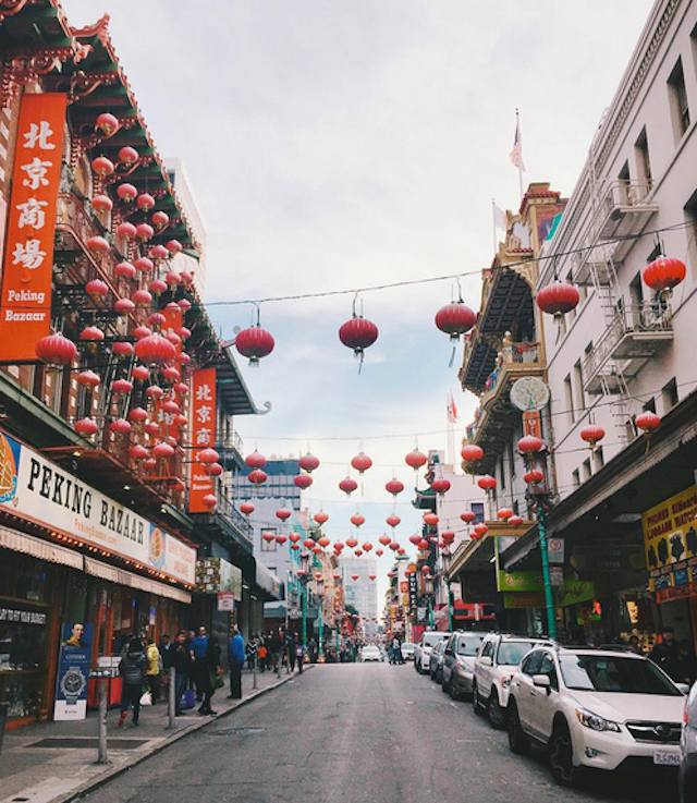 Chinatown always seems to look festive