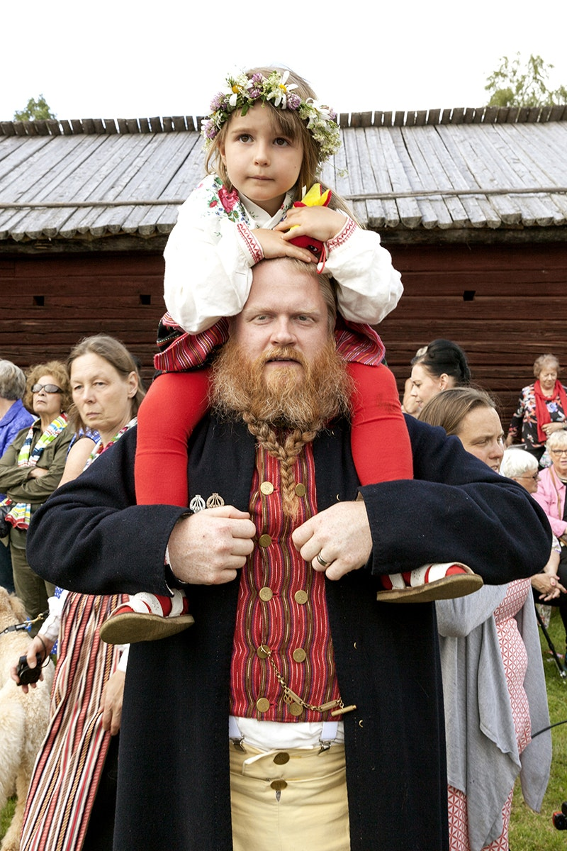 People of Swedish nationality hold Midsommar festivals and parties all over the world.