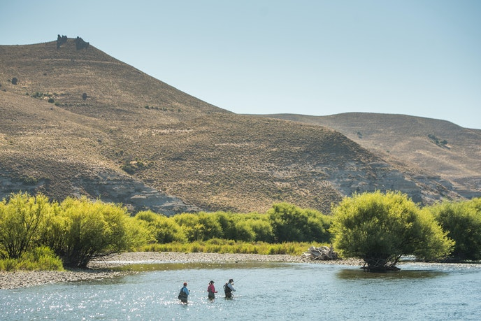 Tipiliuke Lodge is a 50,000-acre working cattle ranch known for world-class fly-fishing.