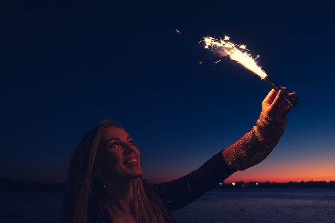 Roman candles are not allowed in many U.S. states.