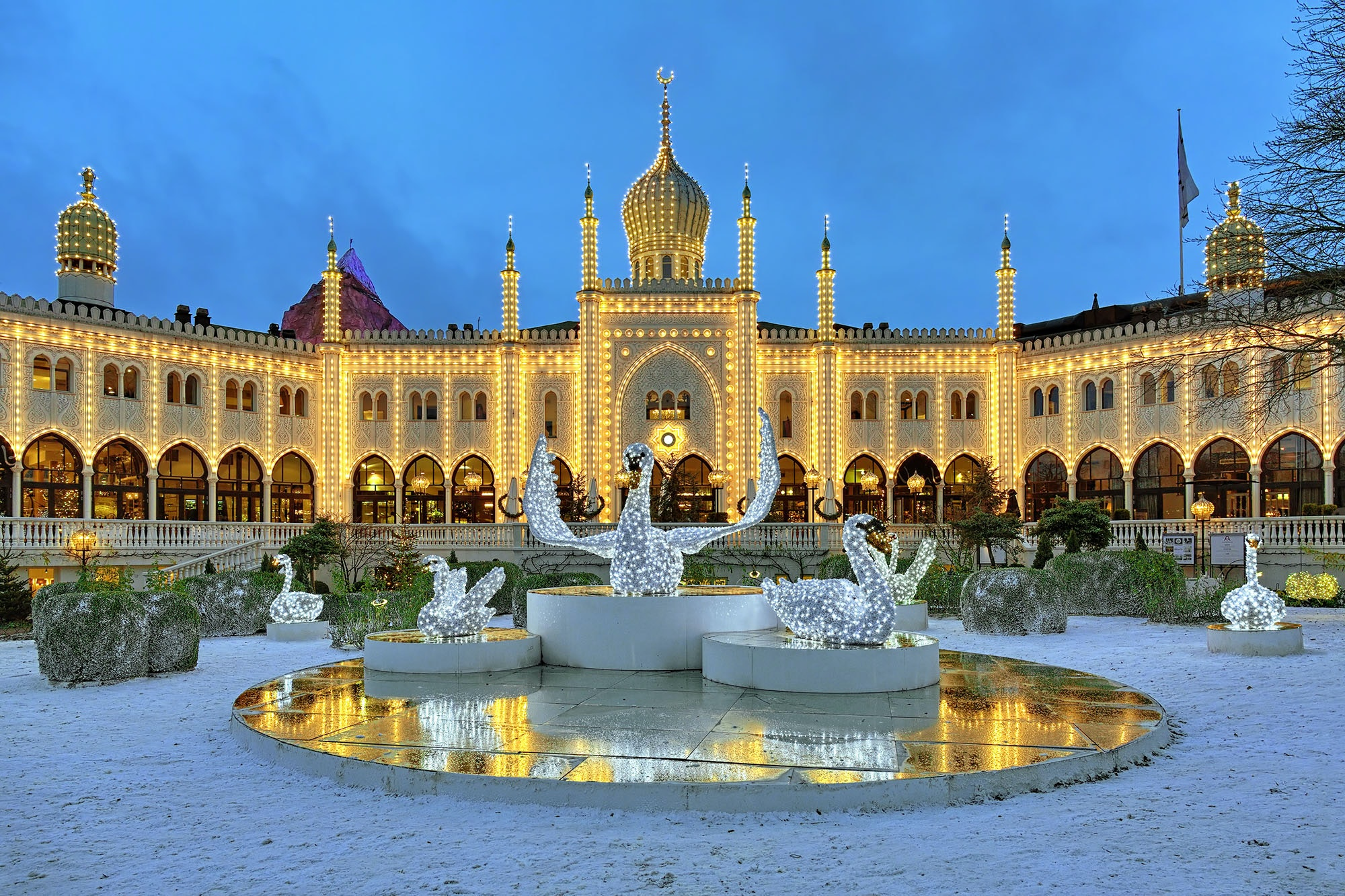 Copenhagen's Tivoli Gardens celebrates its 175th birthday this year.